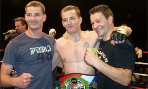 George Kassimatis mma belt pic with sp and SK